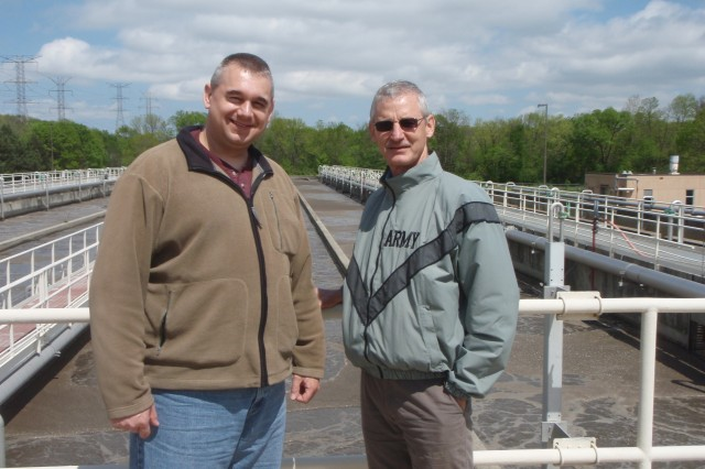 Bill Piol, Buffalo District Safety Specialisti and Steve Vriesen, an Environmental Engineer with the Buffalo District, were able to expand their knowledge and disaster response capabilities as they pertain to waste water by visiting and talking with experts about the inner workings of several waste water treatment plants in the Chicago area.