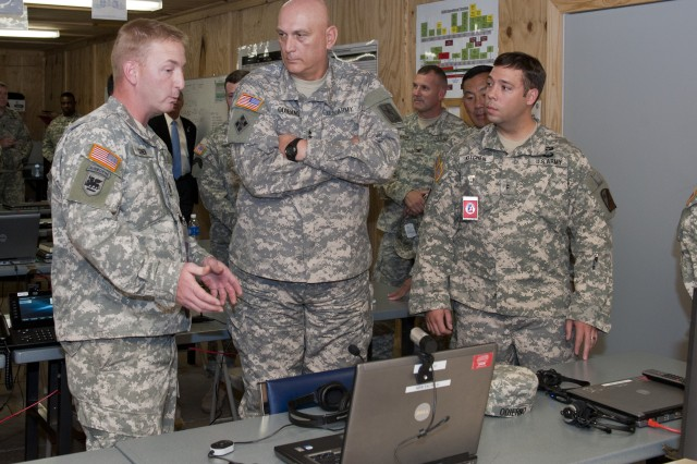 Chief of Staff of the Army Visits JRTC