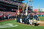 Washington Nationals welcome, honor Wounded Warriors, service members