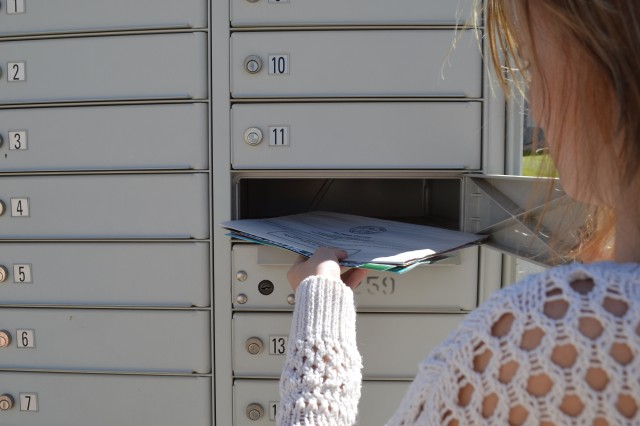 FORT CARSON, Colo. -- Cluster box units help the U.S. Postal Service reduce operating costs and allow mail carriers to deliver larger parcels, reducing wait lines at post offices.