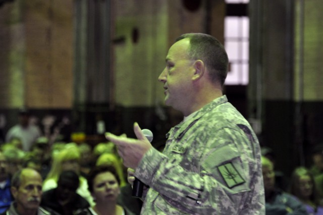 Staff Sgt. Mike Broderick, who is the New York State Guards' Joint Substance Abuse Coordinator, talking about the new varieties of substances that are on the rise for abuse.