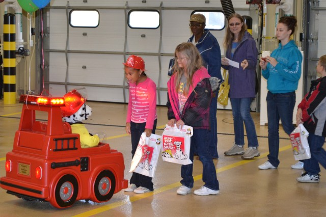 All of the fire friends were a huge hit with the kids who visited Fire Station 2 on Oct. 9.