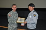 Korean National Police tour Yongsan Army base