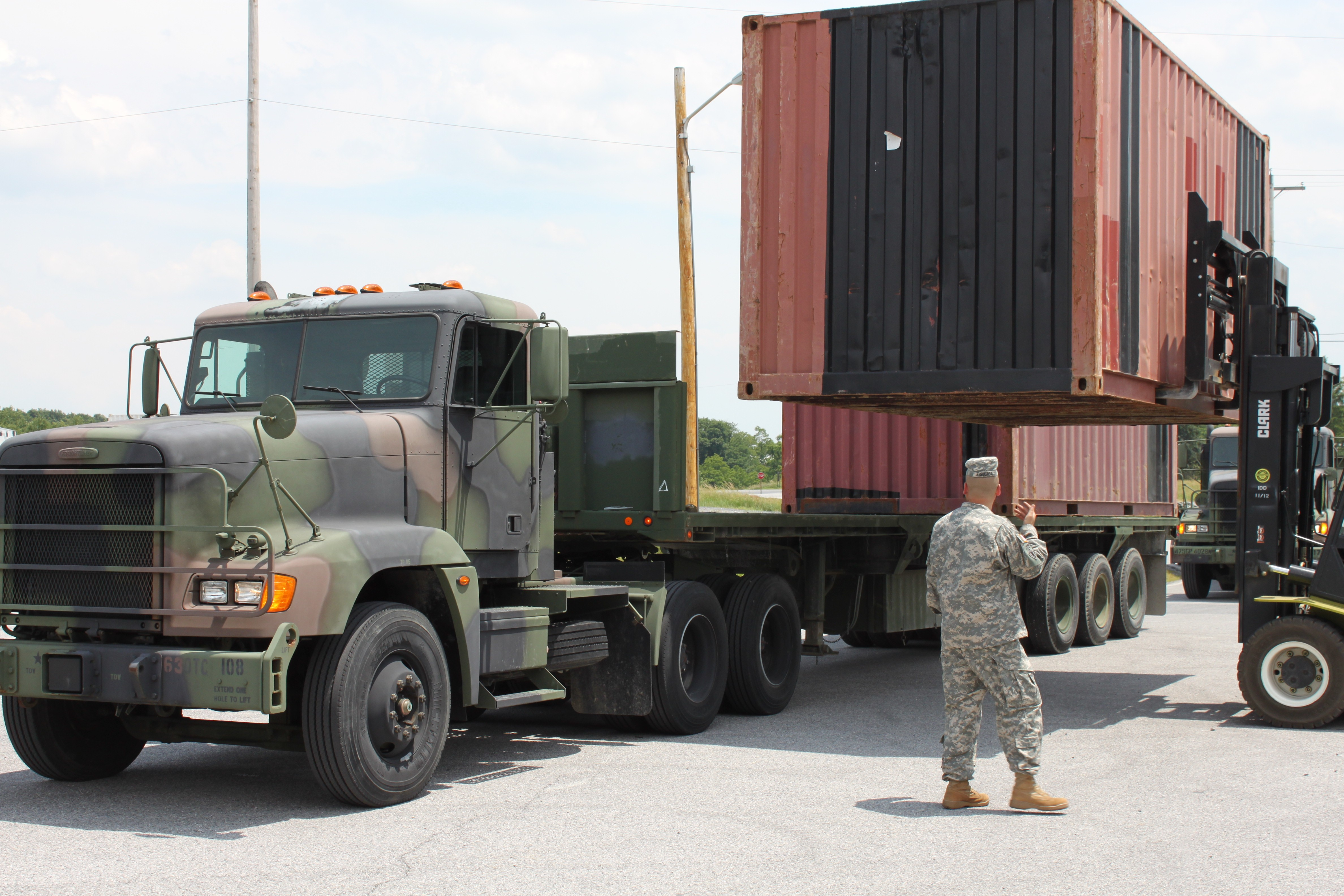 Lemc Provides 630th Transportation Company Training Opportunity Article The United States Army