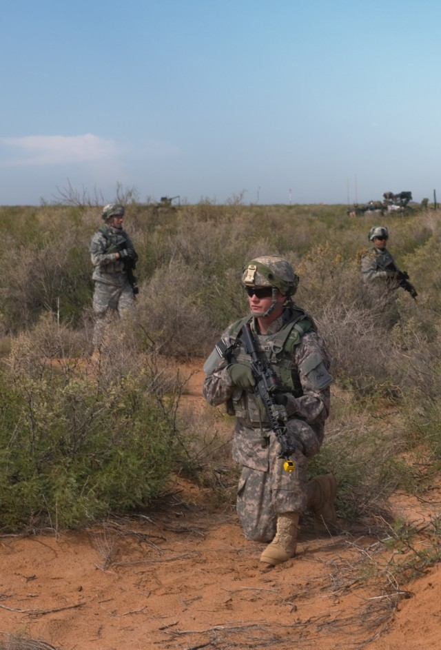 Iron scouts train at NIE 13.1