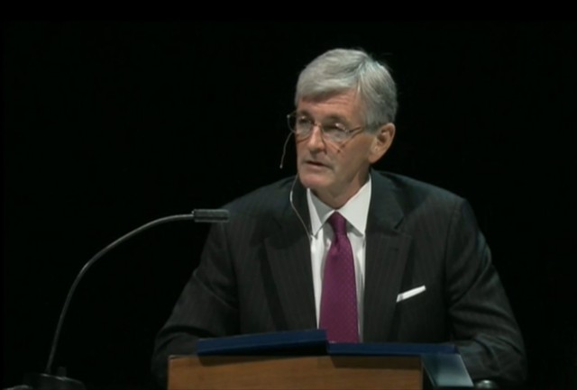 McHugh speaks at 2012 AUSA Annual Meeting and Exposition