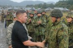 Japan Ground Self Defense Force Welcomes Golden Dragons
