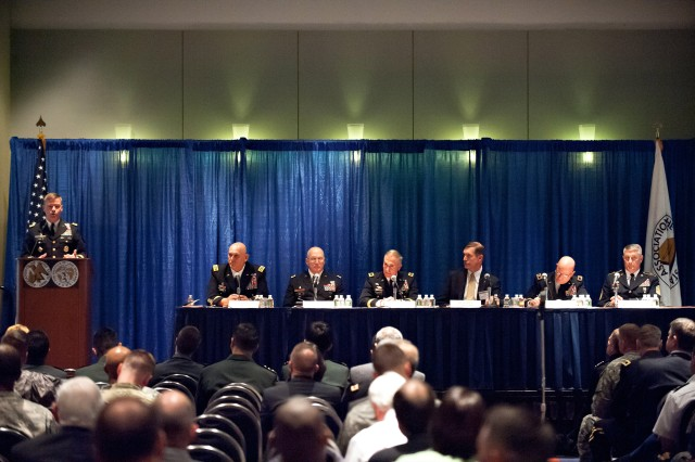 AUSA Opening Day: Leaders Discuss Army Profession, Address Family Forum