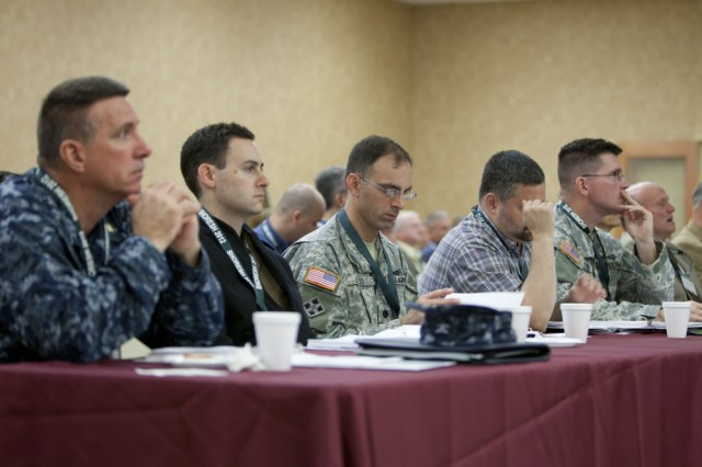 Attendees at the 2012 Shoresh Conference on Military Medicine Oct. 15.