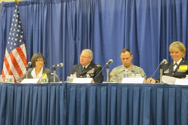 The Modernization Panel outlines a 30-year acquisition S&T strategy during the 2012 Association of the Unites States Army Annual Meeting and Exposition, Oct. 23, 2012, in Washington, D.C.
