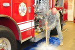 Presidio Fire Department houses new engine