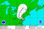 Hurricane Sandy projection as of 5 p.m. (EDT), Oct. 29, 2012