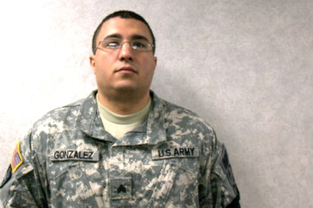 Sgt. Carlos A. Gonzalez, military police, 49th Missile Defense Battalion, joined the Army in June 2003.
