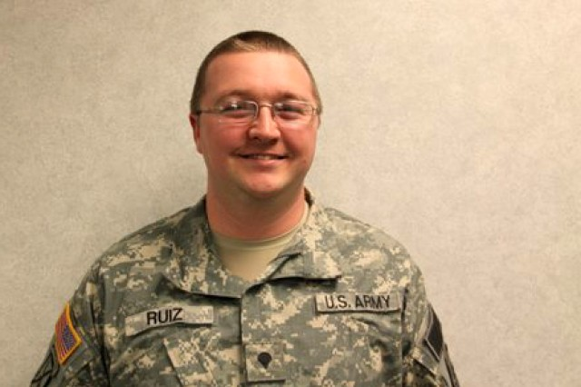 Spc. Jay B. Ruiz, military police, 49th Missile Defense Battalion, joined the Army in March 2001.