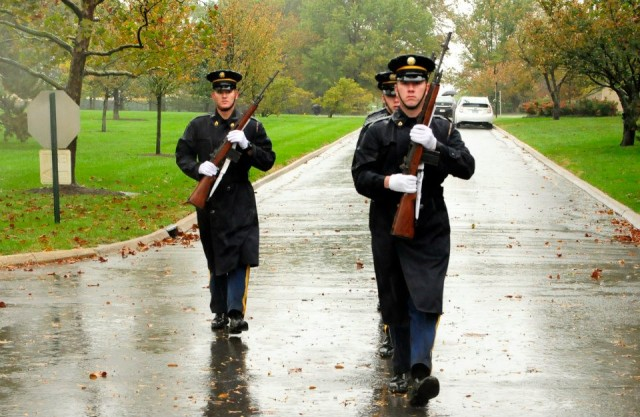 Guard Soldiers brave Hurricane Sandy, render honors, ensure others' safety