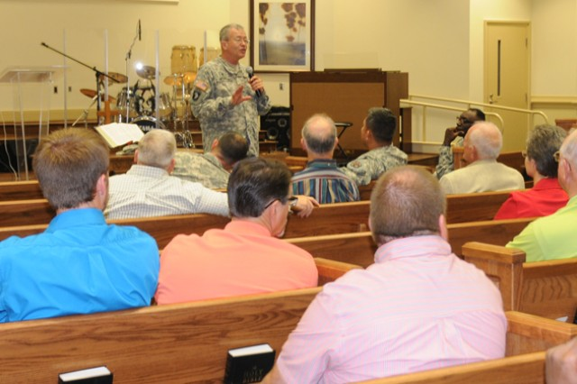 Event helps local clergy understand military Family issues
