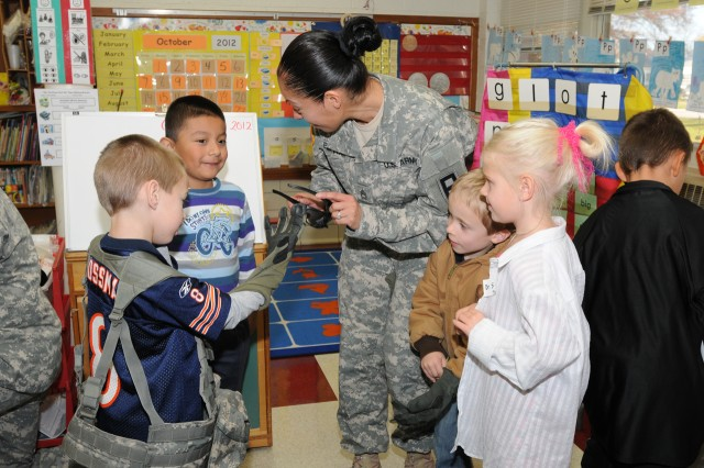 On Halloween, Kindergarten Class Learns About Soldiers, Not Ghosts and Goblins