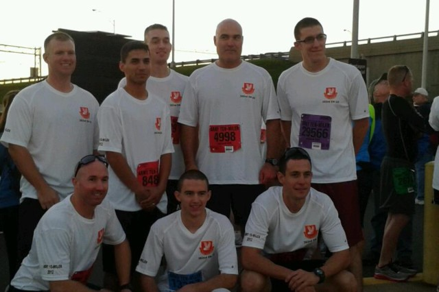 Harrisburg Army Reserve Sappers win 2nd place in Army 10-Miler