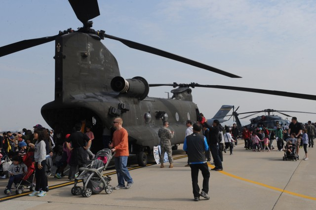 Eighth Army participated in the Osan Air Power Day on Osan Air Base, South Korea Oct. 20 - 21.