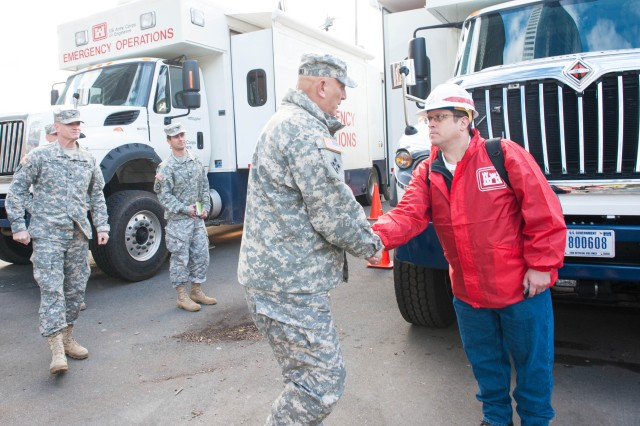 Army Chief of Staff Tours Damage-Stricken New York City and New Jersey, Thanks Responders