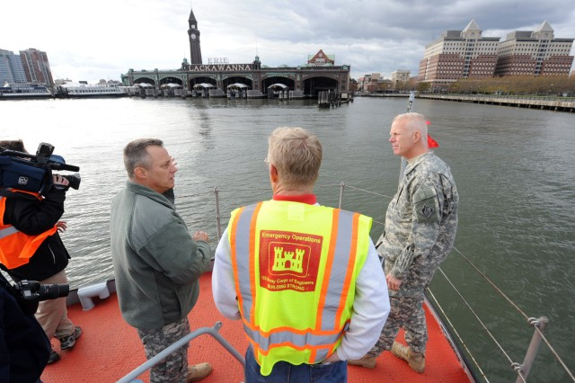 USACE helps in Hurricane Sandy relief efforts