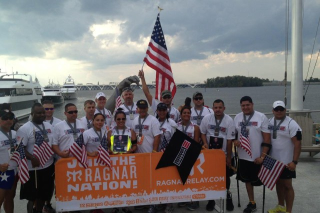 STTC, in coordination with Operation Giveback, recently participated in the Cumberland, Md. to National Harbor D.C. Ragnar Relay (197 miles) and had five wounded warriors and one Gold Star wife running.