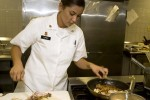 Competing for a spot on the U.S. Pacific Command Joint Culinary Arts Team Hawaii