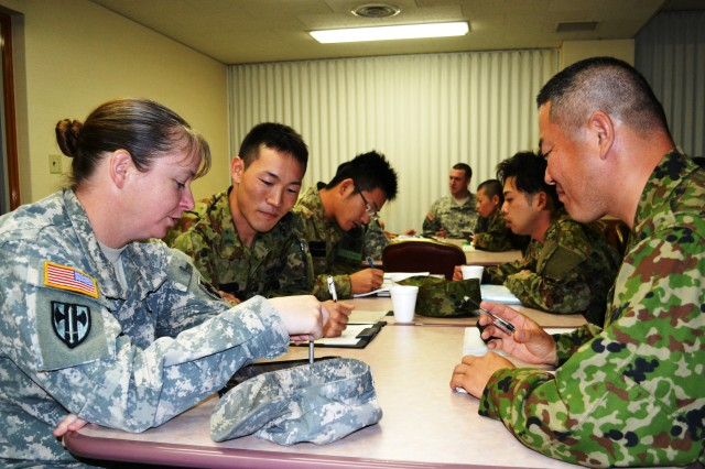 US and Japanese Soldiers unite through English