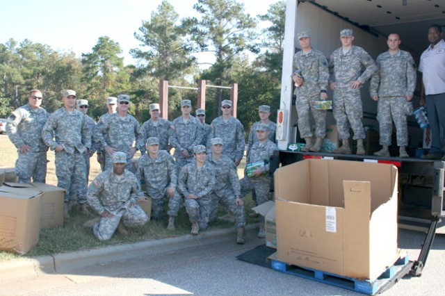 1-145th students give back to community
