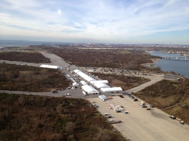 Floyd Bennett Field Logistics Support Area Supports Guard Mission