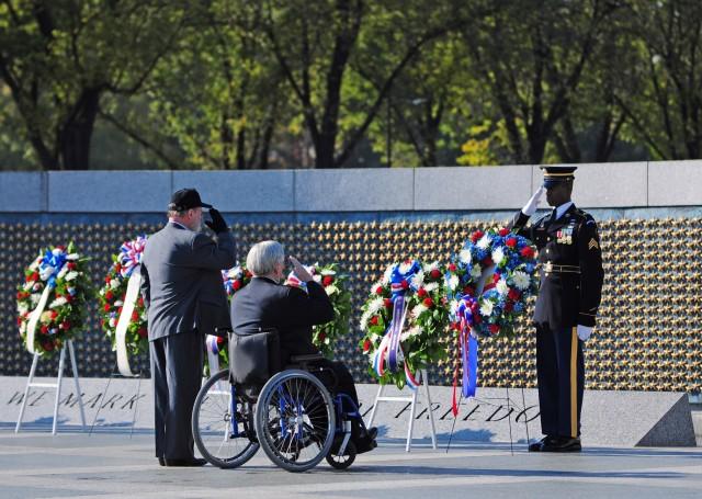 2012 Veterans Day Rememberance at the World War II Memorial