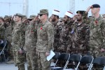 Remembrance Day ceremony held at Bagram Airfield