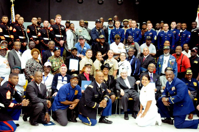 MIAMI, Fla.-Military veterans from all service branches and of past and present wars were recognized for their enduring commitment, service and sacrifice in a special Veterans Day 'Congressional Record' presentation ceremony held here at the American Legion Post 29 in Miami, Fla.