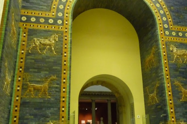 The Ishtar Gate of Babylon is just one exhibit at the Pergamon Museum.