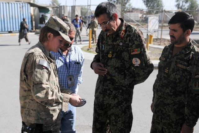 Sustainers visit Afghan military hospital