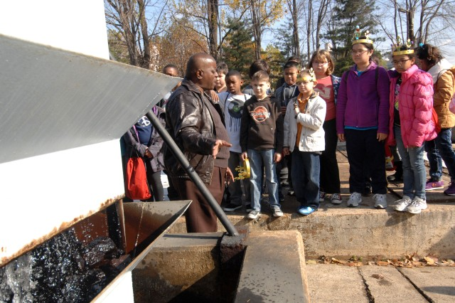 SAES students visit water treatment plant