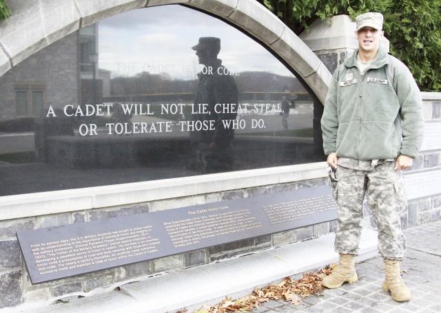 Class of 2016 Cadet Harrison Majors