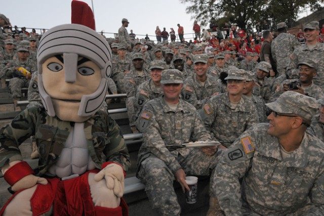 Troy University honors Soldiers