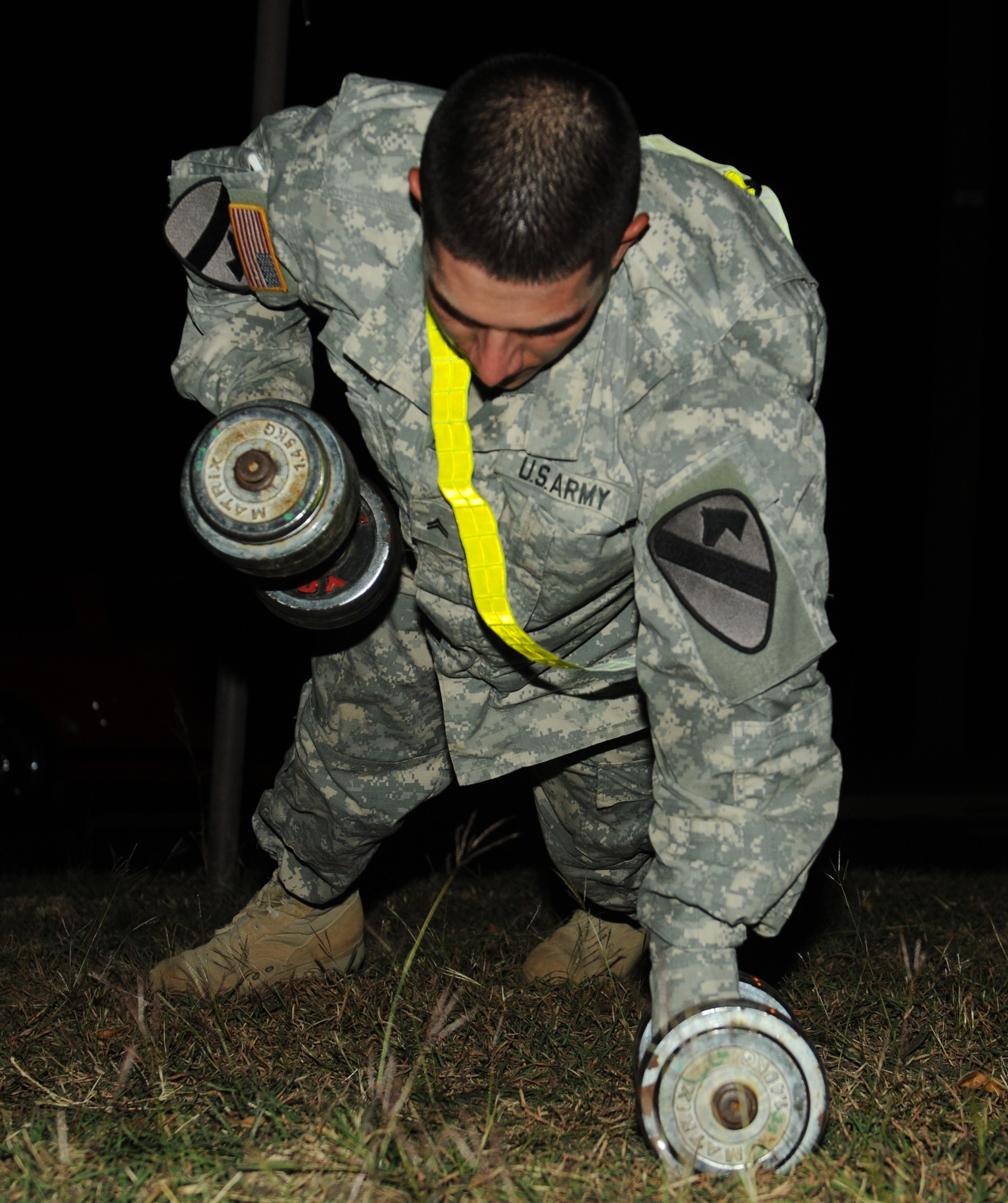Soldiers take part in battalion-wide PT challenge | Article