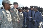 New York National Guard Soldiers Visit West Point