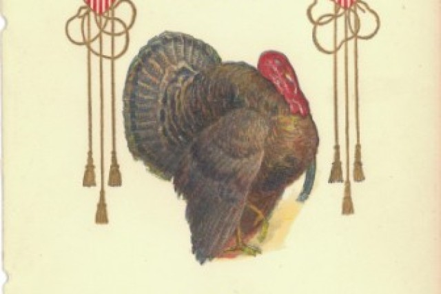 Thanksgiving menu, 1937, Fort Monmouth Station Hospital