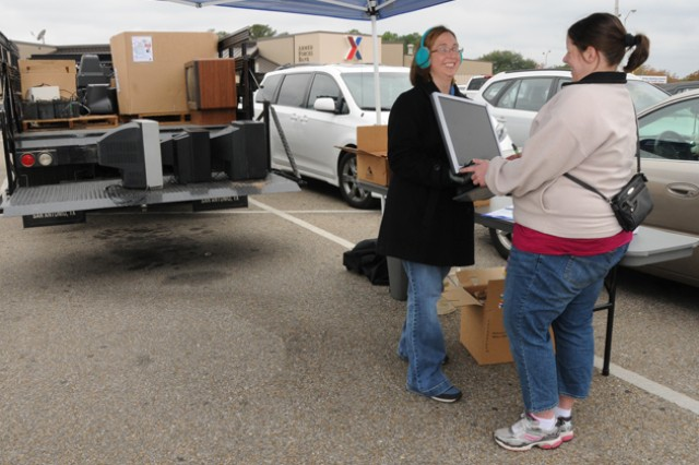 Post participates in America Recycles Day