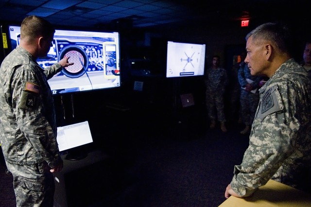 Army chief of operations visits TRADOC