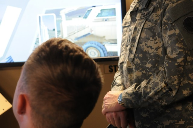 USARPAC Soldiers train on new virtual route clearance system