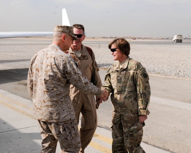 Sustainers celebrate Thanksgiving at Kandahar Airfield