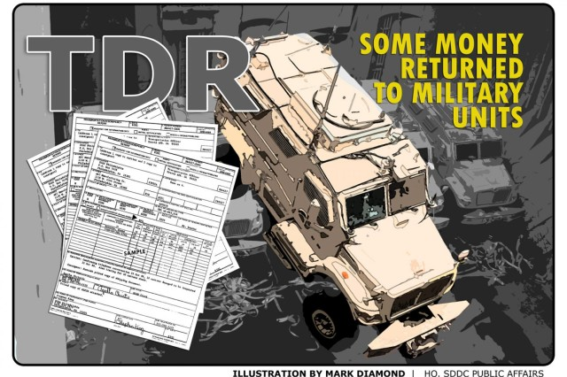 Change to TDR process routes money back to military units