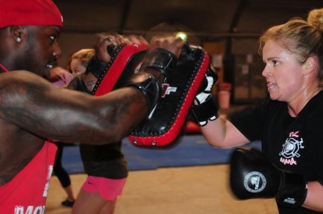 MMA boosts morale at Tarin Kot