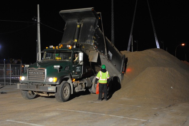 Army Corps Sand Removal in NYC