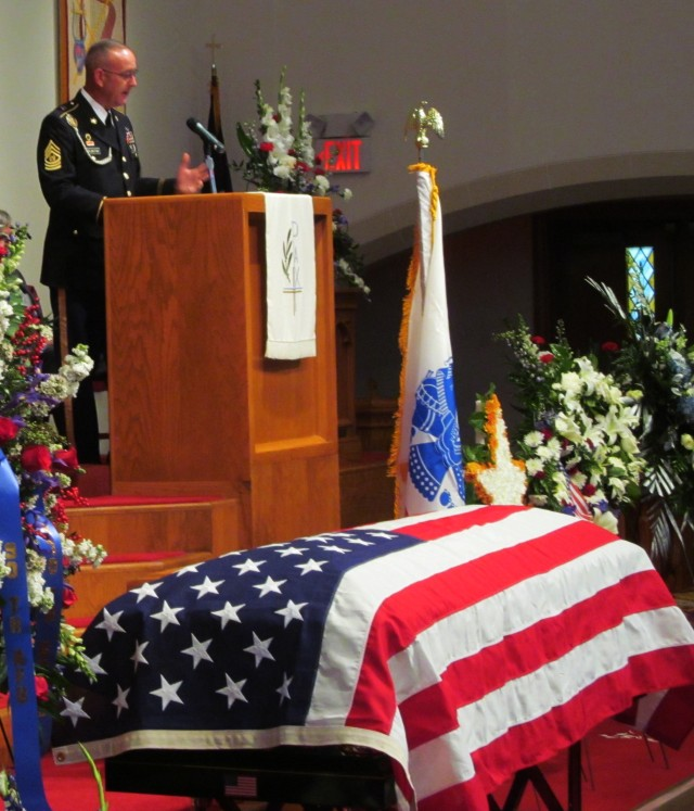 War hero remembered as Soldiers' friend