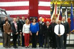 Friends attend ceremony to support the McConnells